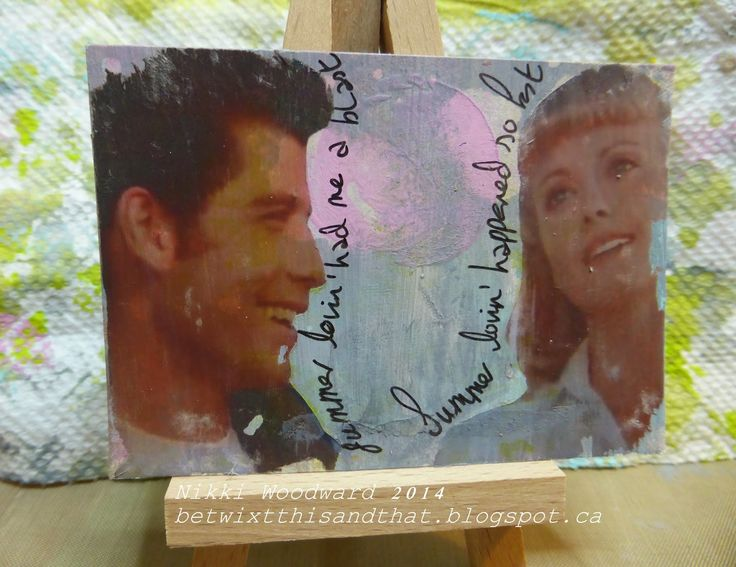 Betwixt this and that : The Art of Self Expression: Summer lovin' atc-Ok ATC trade
