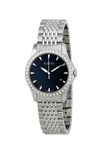 Luxury Italian Watches  Gucci Women's Diamond Bracelet Watch