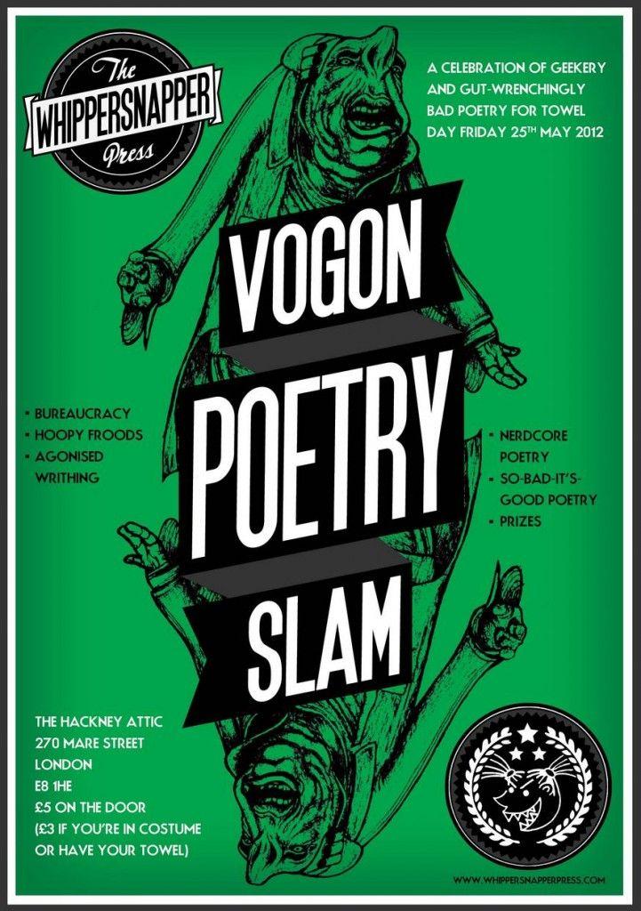 Vogon Poetry Slam