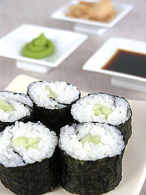 Kappamaki - sushi z ogórkiem