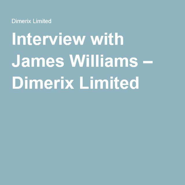 Interview with James Williams – Dimerix Limited