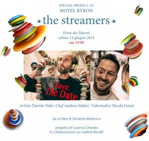 "Special Project at Hotel BYron ""The streamers"""