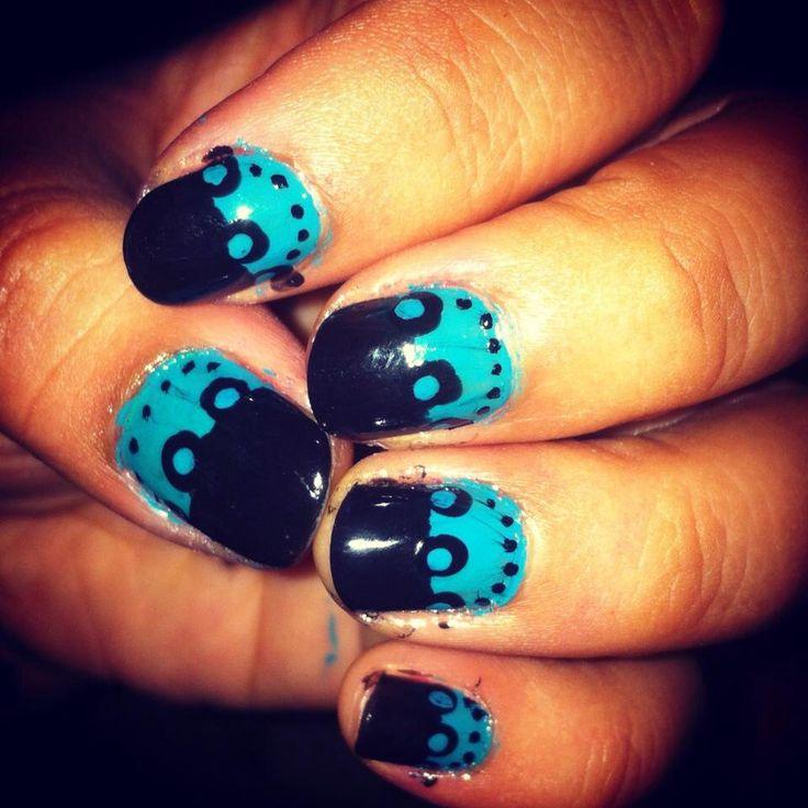 #nails #manicure #bicolor