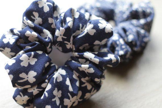 Handmade Flower Scrunchie by Rusticmintx on Etsy