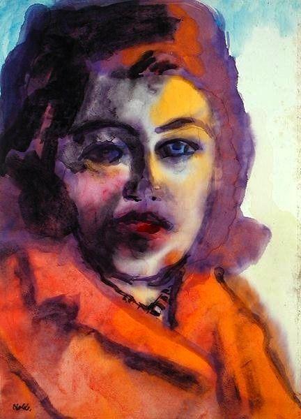 Emil Nolde, Portrait of a Woman