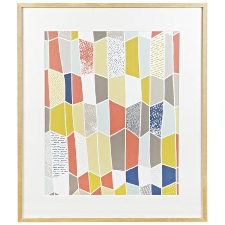 Clementine Print 77x91cm | Freedom Furniture and Homewares