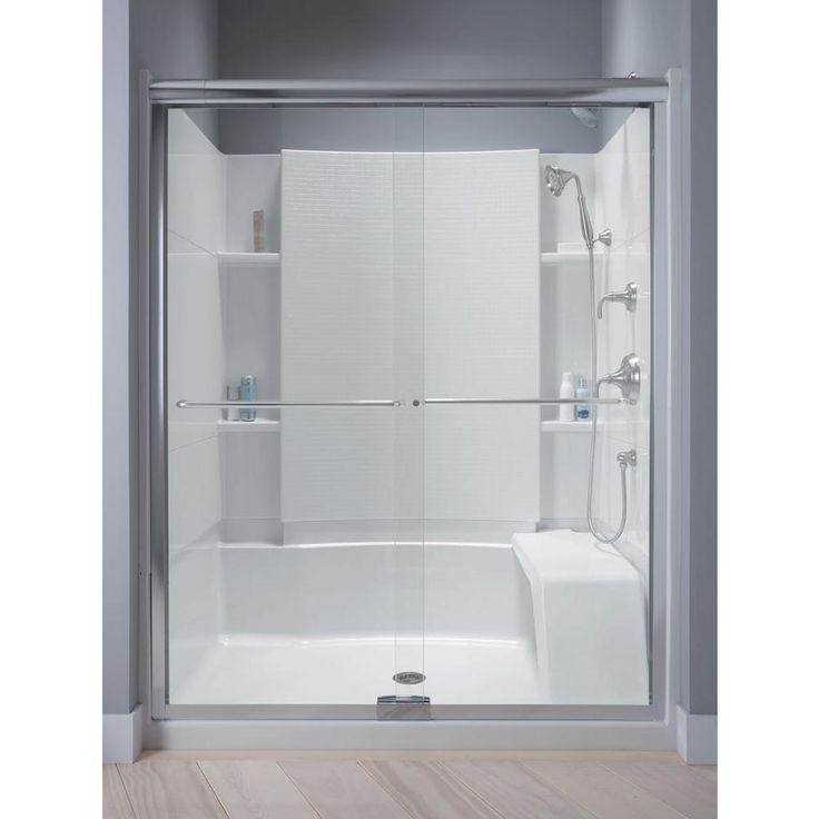Sterling Frameless Sliding Shower Doors