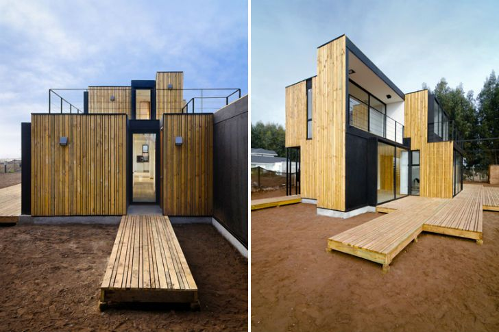 Modular casa sip is a zero waste home in chile zero for Sip panel home kits
