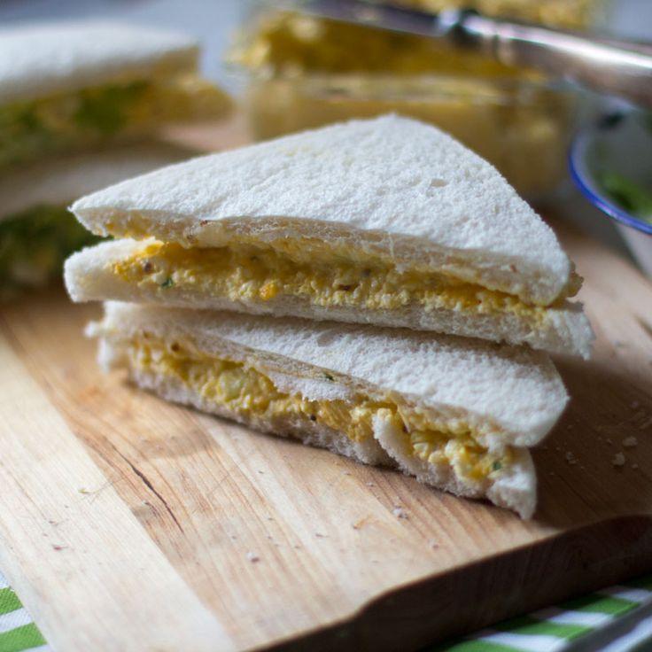 Cómo preparar sandwich de ensalada de huevo con Thermomix