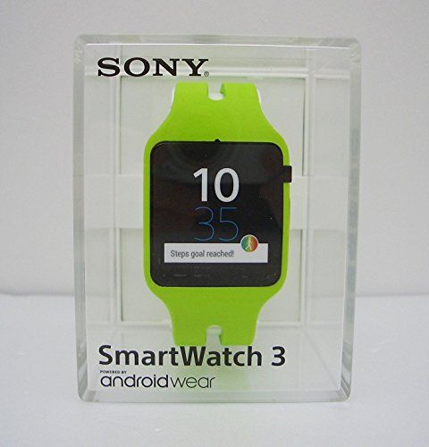 NEW Sony SmartWatch 3 SWR50 Android 4.3 NFC Waterproof IP68 GPS 4 GB - Lime   Sony SWR50 SmartWatch 3 NFC Bluetooth IP68 Waterproof Android Wear Smart Watch - White Introducing the Sony SWR50 SmartWatch 3 NFC Bluetooth IP68 Waterproof
