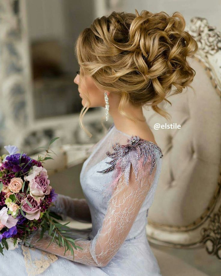 Wedding updo, stunning! You can add extensions if you need to. Ask your stylist..