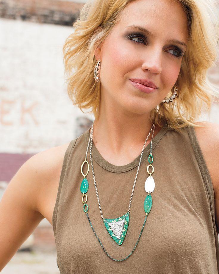 Fresco Necklace | Jewelry by Silpada Designs www.mysilpada.com/marilyn.neilson