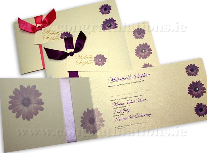 "The ""Bouquet"" Wedding Stationery Collection"