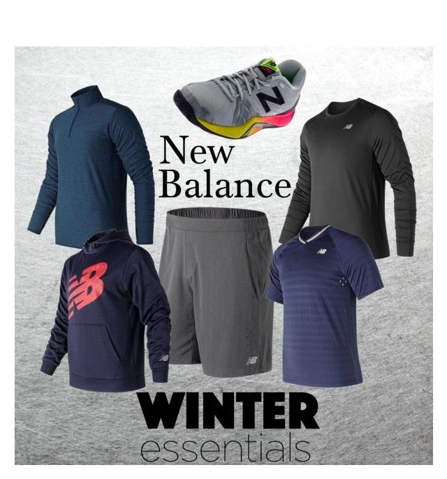 """New Tennis Gear for Men from New Balance"" by tennisexpress"