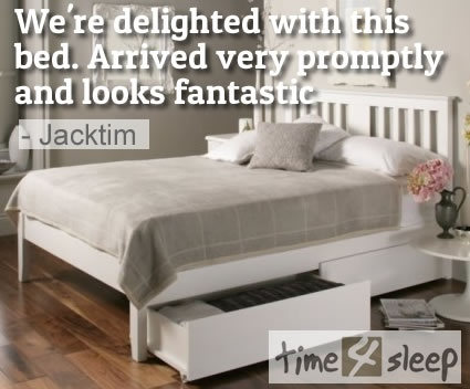 Malmo White Wooden Bed Frame Review Just Wanted To Say