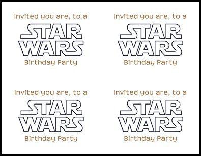 Unique Star Wars Font Ideas On Pinterest Star Wars Jack - Birthday invitation fonts