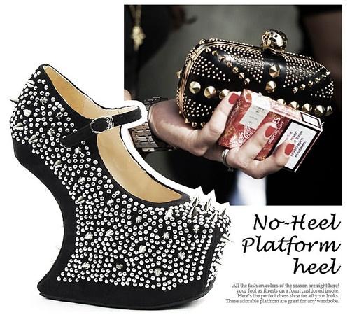 the korean fashion shop high no heel suded shoes