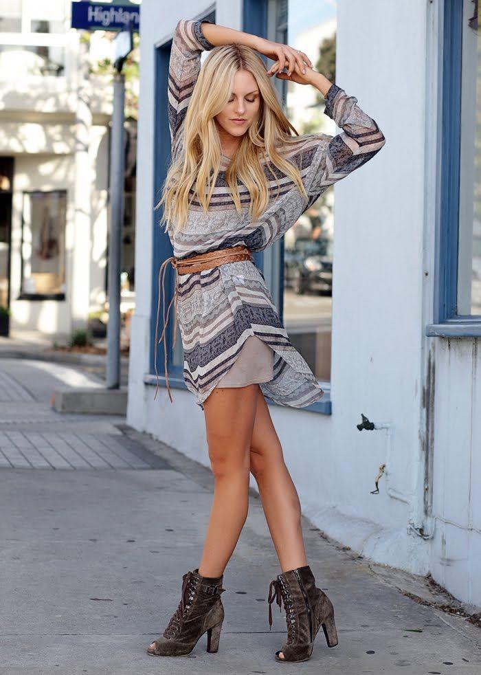 Boho: Summer Dresses, Style, Cute Outfits, Dresses Shoes, Boho Dresses, Fall Fashion, The Dresses, Boots, Belts