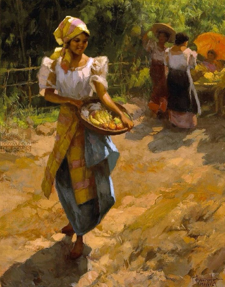 Pin on Fernando Amorsolo Paintings