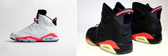 Learn all the important facts about Michael Jordan's sixth signature shoe.: Infrared