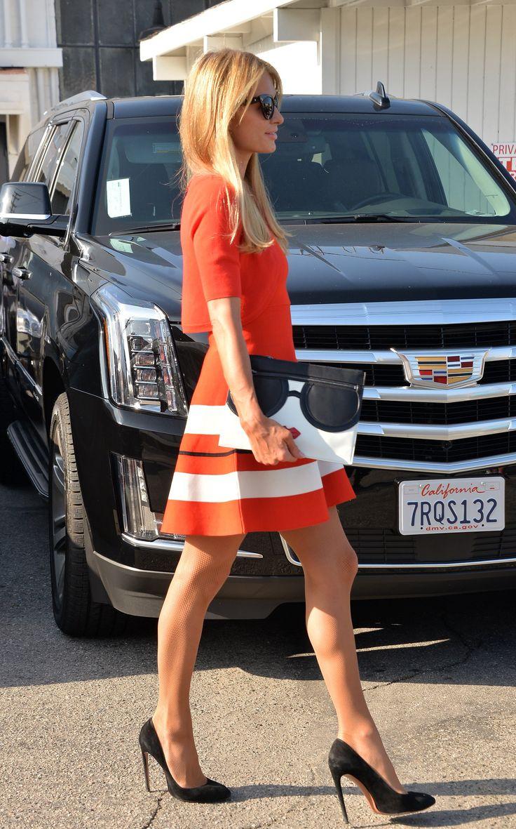 Paris Hilton Visits a hair salon Beverly Hills May 12-2016