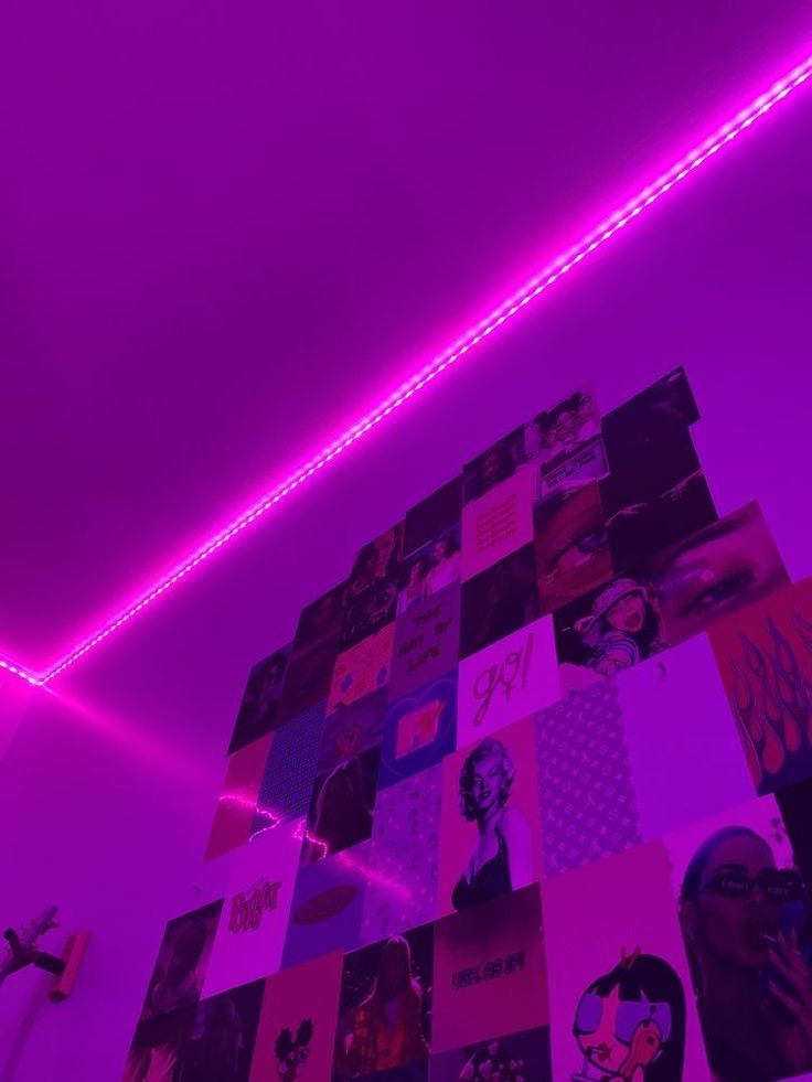 lights led purple bedroom neon inspo tik tok edge rooms teen aesthetic vsco trendy lighting inspiration tapestry grunge testsoru uploaded