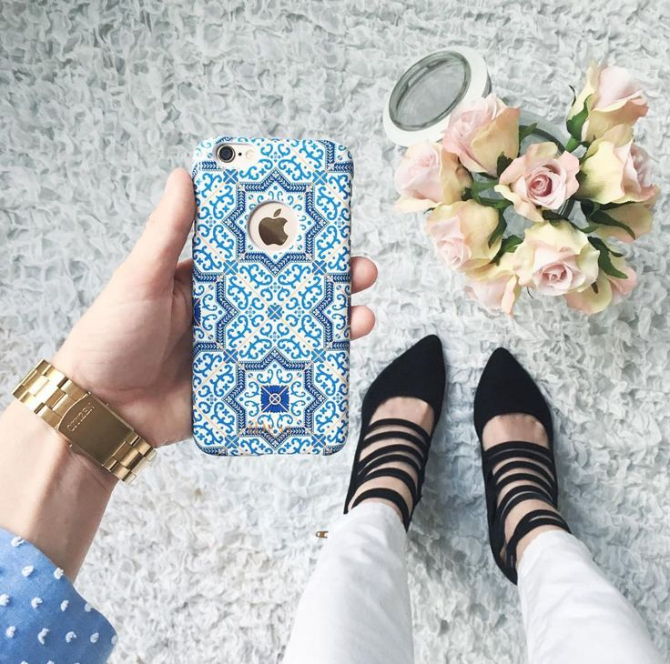 Marrakech by @lovebyhanna - Fashion case phone cases iphone inspiration iDeal of Sweden #Mosaic #blue  #fashion #inspo #iphone #pattern #tile #summer #moroccan