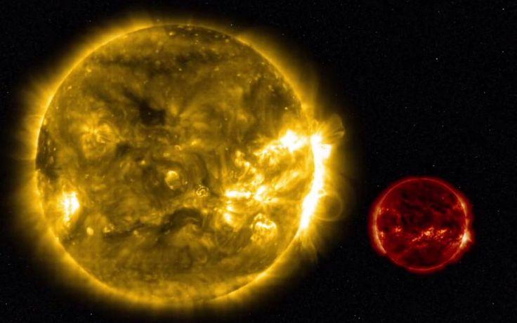 Kleine sterren brengen enorme zonnevlam voort http://www.rtlnieuws.nl/nieuws/kleine-sterren-brengen-enorme-zonnevlam-voort…