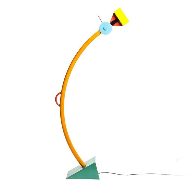 Treetops memphis milano floor lamp by ettore sottsass in for Product designer milano