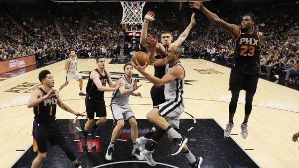 Manu Ginóbili imparable: récord de anotaciones en otra victoria de los Spurs - Infobae