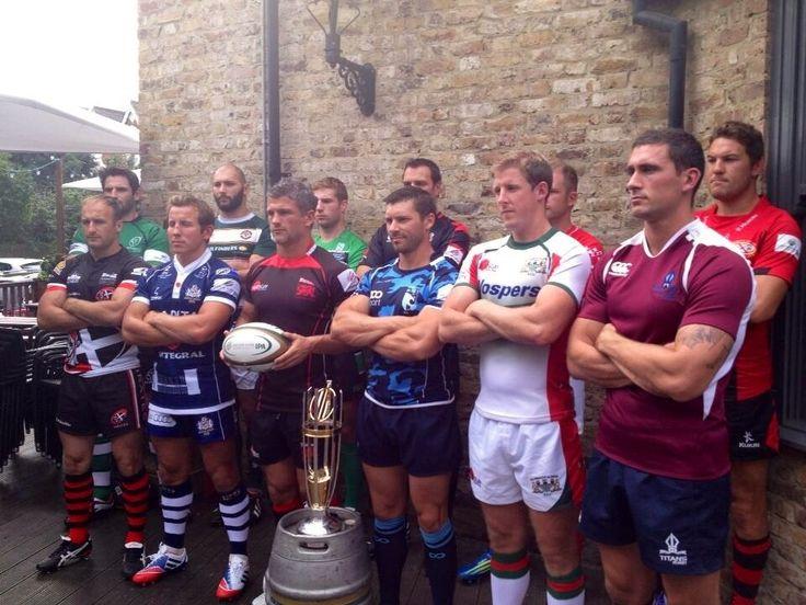 Bristol Rugby - The Greene King IPA Championship season launch 2013/14!