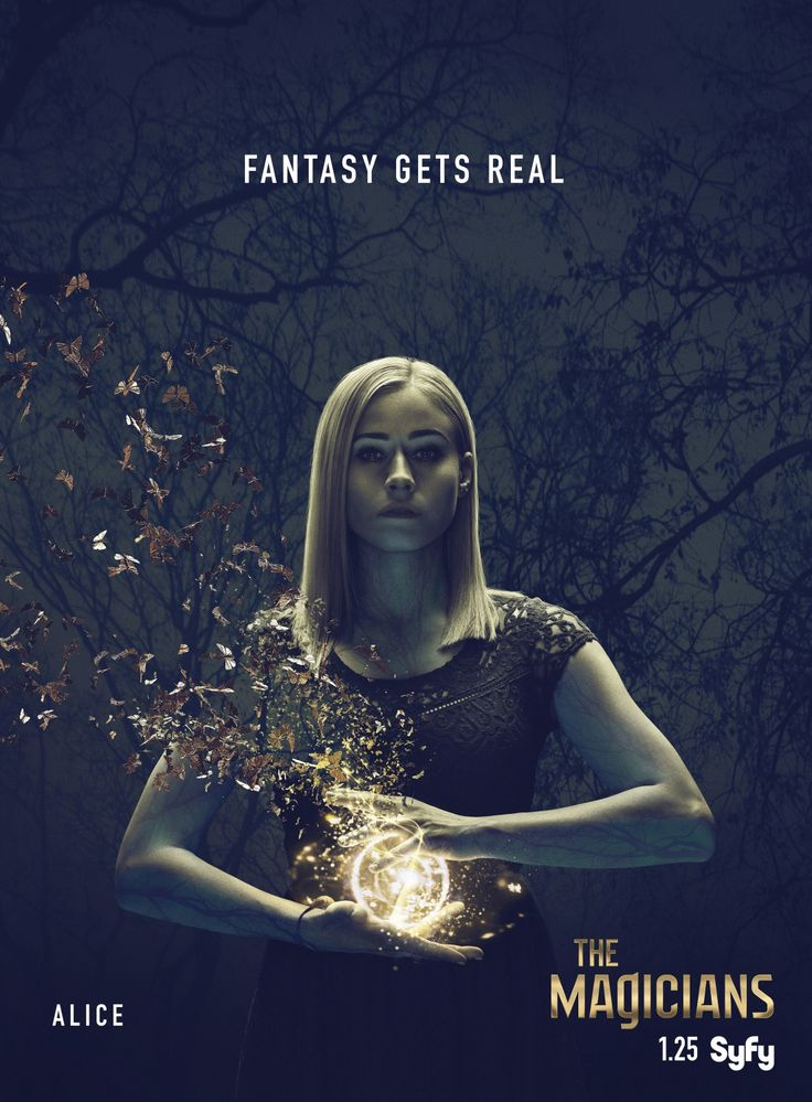 The Magicians Season 2 Poster Olivia Taylor Dudley