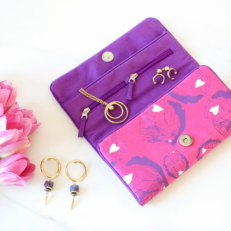 Tropical Romance - Our New Luxury Jewellery Roll & Travel Accessories Collection
