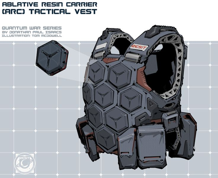 ArtStation - Quantum War - Escape Velocity Illustrations, Tom McDowell