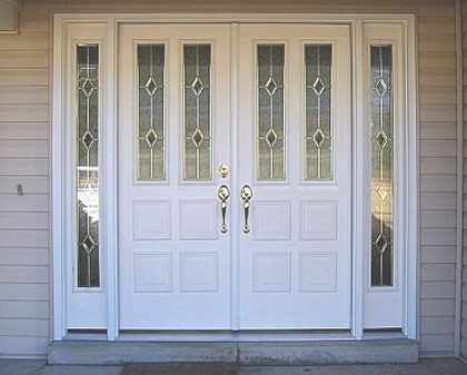 17 best double doors with sidelights images on pinterest - Exterior french doors with sidelights ...