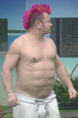 Darryn Lyons getting fake abs was some of the most bizarre plastic surgery of all time. His ab implants are actually the same material as breast implants, but just eight of them.