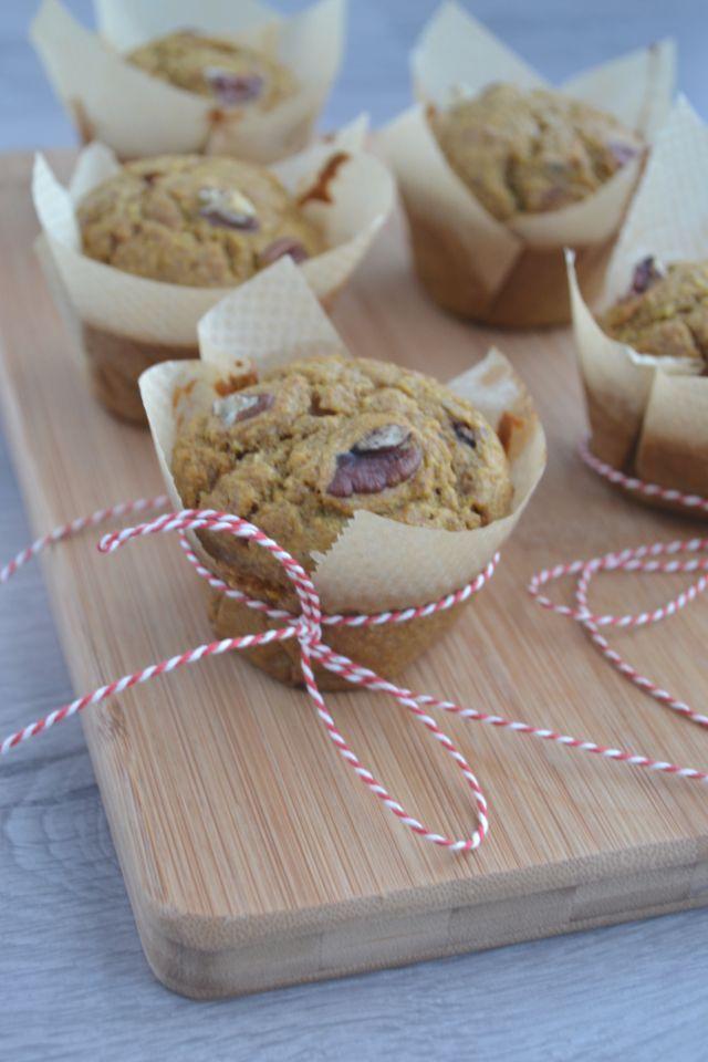 Kokos & Pompoen Muffins - Blij Suikervrij