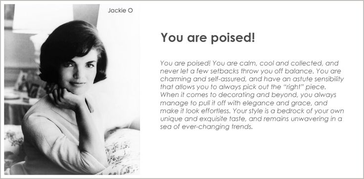 Find out what your decor personality is, here's mine: http://www.nousdecor.com/quiz/result/poised/glam?share=social #nousdecor