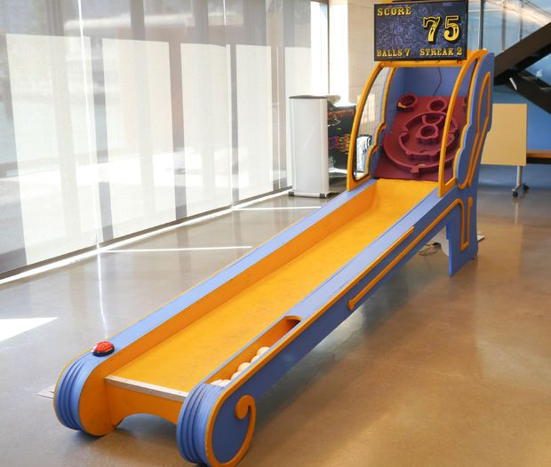 Picture of DIY Skee Ball Machine full recommended!!! All details and files to create in CNC router and electronics here!!!