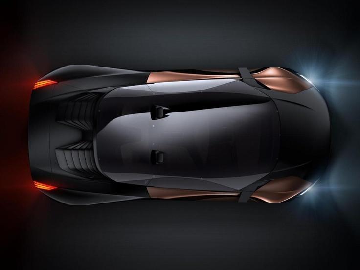 Футуристический Peugeot Onyx