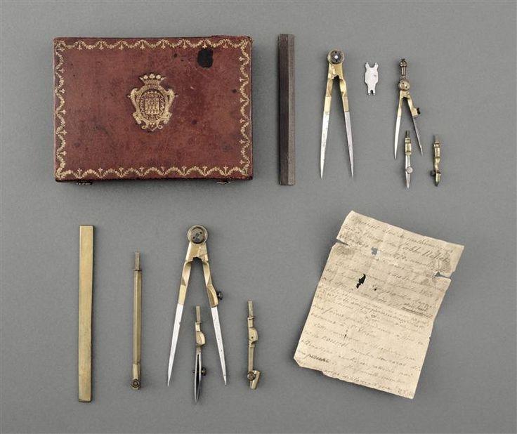 Nécessaire de mathématiques, mid 18th C.   Réunion des Musées Nationaux-Grand Palais -