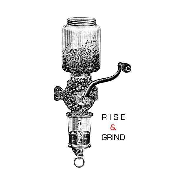 Check out this awesome 'RISE+%26+GRIND' design on @TeePublic!