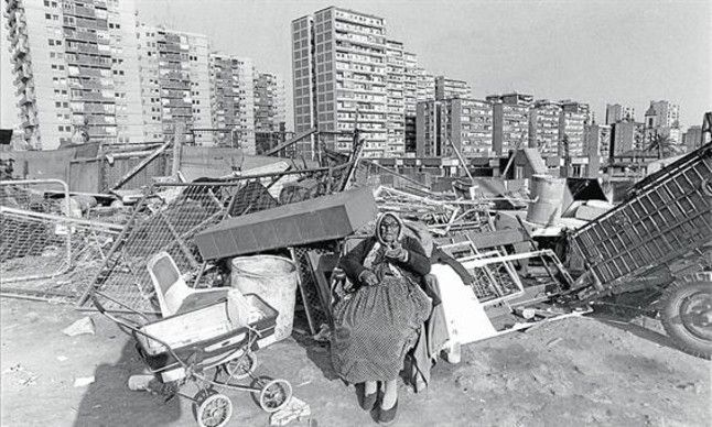la perona barraques barcelona pinterest slums and