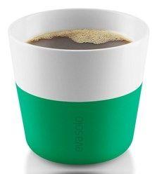 Eva Solo - Filiżanka do kawy 2 szt. Jolly green kawa, filiżanka zielona