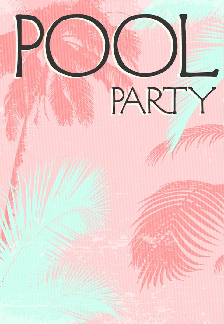29 best Invit soiree images on Pinterest Tropical party, Wedding - free party invitation templates word
