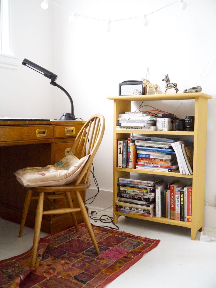 Corner of my studio. www.helenwellsartist.co.uk