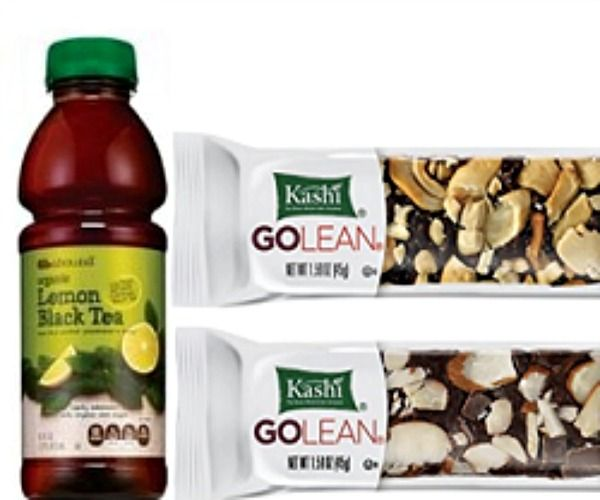 Get a FREE Kashi Go Lean Bar and Gold Emblem Organic Iced Tea at CVS when you coupon with TopSavings