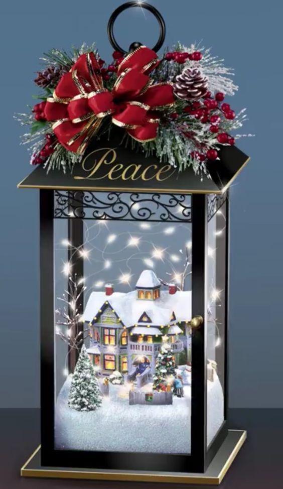 Günstige und einfache DIY Weihnachtsschmuck mit kleinem Budget Laternen – Garden Decorations