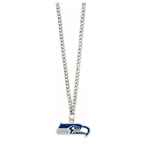 cool NFL Seattle Seahawks Team Logo Necklace
