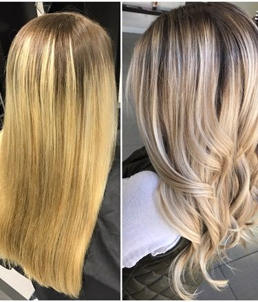 Yellow Blonde Balayage